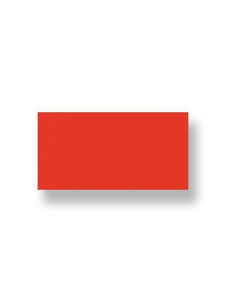 Azulejo liso rojo 10X30 cm (1.02 m2/cj)