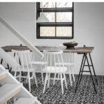 Baldosa hidráulica mecánica fantasy 20x20x1.4 cm cemento pigmentado. azulejo artesanal para estilos rústicos o modernos.