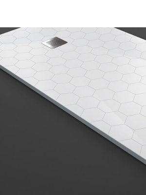 plato de ducha poliuretano hexagon texence 5