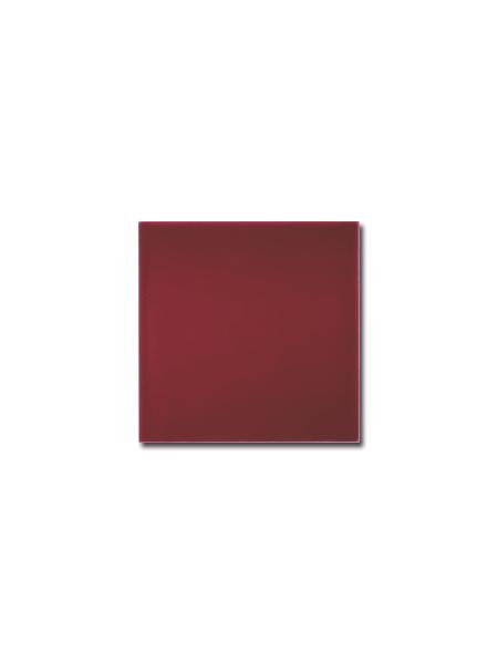 Azulejo liso burdeos brillo 15x15 cm (1m2/cj)