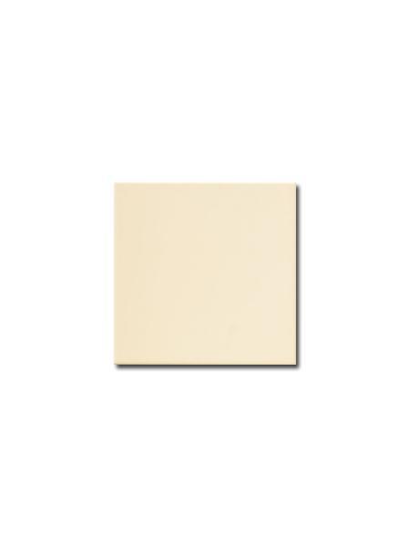 Azulejo liso crema brillo 15x15 cm (1m2/cj)