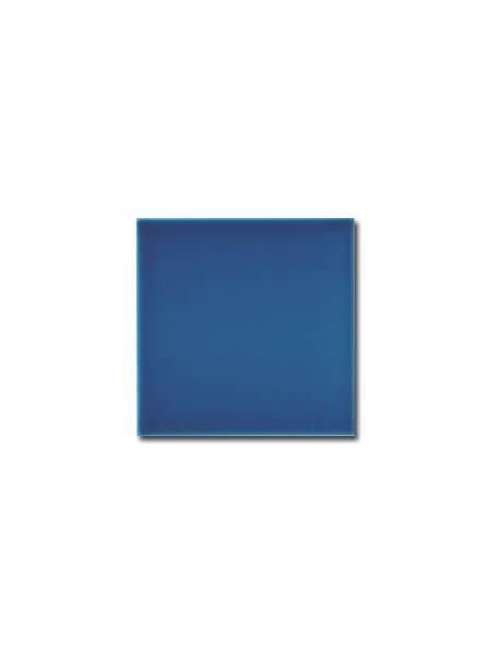Azulejo liso zafiro brillo 15x15 cm (1m2/cj)