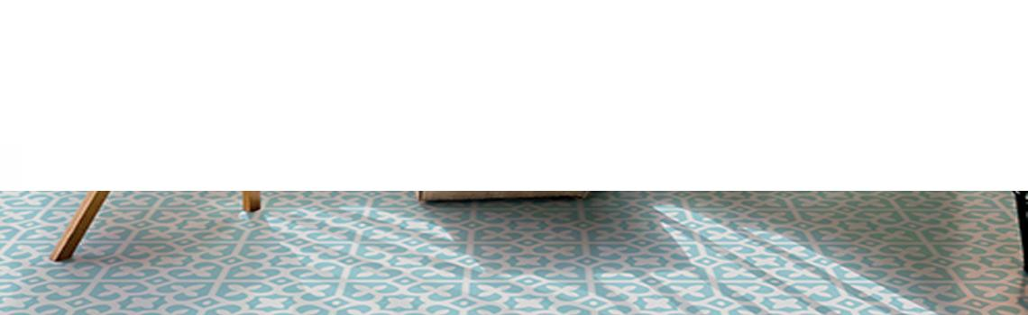 Baldosa hidráulica mecánica sinas 20x20x1.4 cm cemento pigmentado. azulejo artesanal para estilos rústicos o modernos.