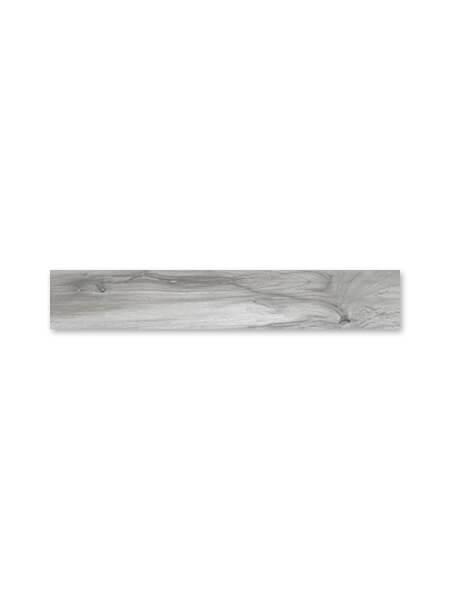 Pavimento porcelánico rectificado alto brillo Taz hail 20x120 cm (1.44 m2/cj)