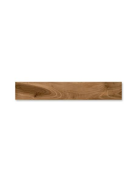 Pavimento porcelánico rectificado alto brillo Taz Teak 20x120 cm (1.44 m2/cj)