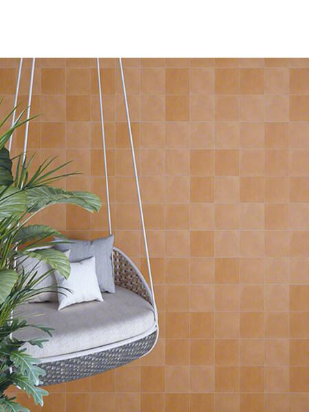 Pavimento porcelánico Pop tile Sixties-R Ambar 15x15 cm (1 m2/cj)