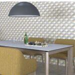 Pavimento porcelánico Pop tile Sixties-R Bonnie 15x15 cm. Una serie de azulejos que evocan el estilo pop up de los años 60.