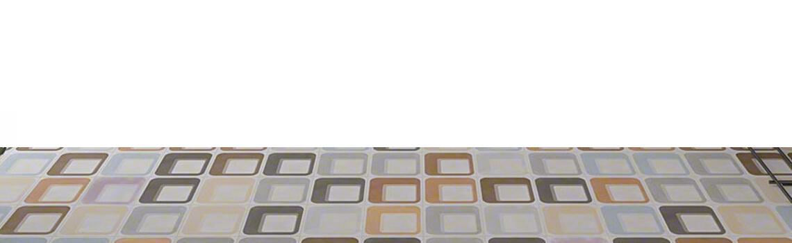Pavimento porcelánico Pop tile Sixties-R Ferus 15x15 cm. Una serie de azulejos que evocan el estilo pop up de los años 60.