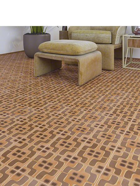 Pavimento porcelánico Pop tile Sixties-R Fluxus 15x15 cm (1 m2/cj)