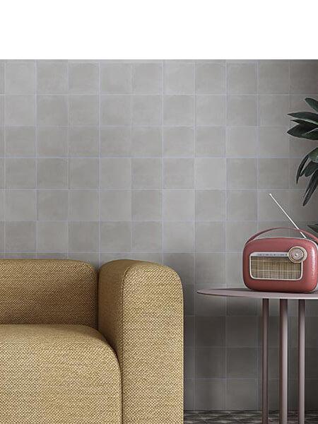 Pavimento porcelánico Pop tile Sixties-R Humo 15x15 cm (1 m2/cj)