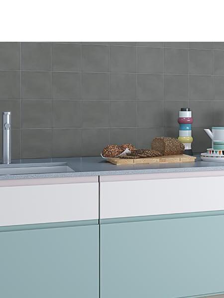 Pavimento porcelánico Pop tile Sixties-R Marengo 15x15 cm (1 m2/cj)
