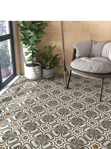 Pavimento porcelánico Pop tile Sixties-R Marquee 15x15 cm (1 m2/cj)