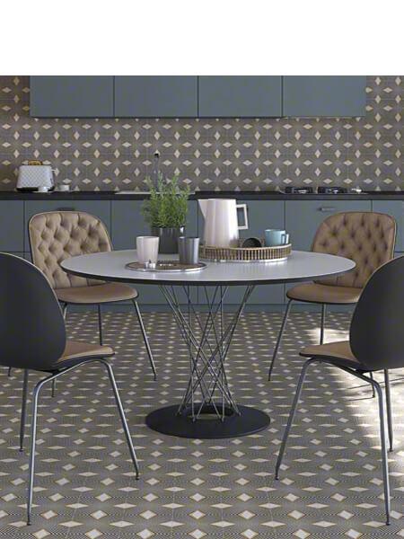 Pavimento porcelánico Pop tile Sixties-R Saville 15x15 cm (1 m2/cj)