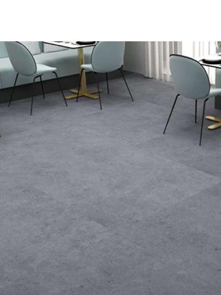 Pavimento porcelánico rectificado Atrio Coal 60x60 cm. Un pavimento imitación cemento de primera calidad especial para interiores y lugares públicos