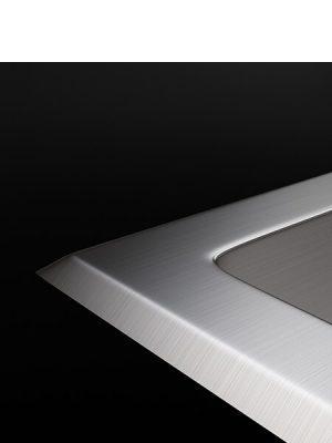 Fregadero de Acero Inoxidable Cuarzo 540x500 mm