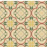 Pavimento imitación hidráulico Gaudí-1 20x20 cm. Diseños del pasado con tecnología del presente, azulejo para paredes y suelos.