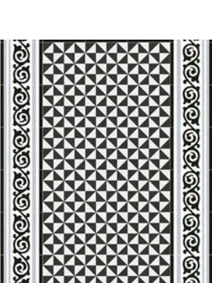 Pavimento imitación hidráulico Gibert-2 20x20 cm. Diseños del pasado con tecnología del presente, azulejo para paredes y suelos.
