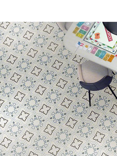 Pavimento porcelánico Bucareli-R Cielo 20x20 cm (1 m2/cj)