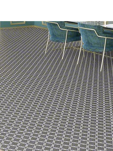 Pavimento porcelánico Bulnes-R Grafito 20x20 cm. Una serie de azulejos efecto hidráulico.
