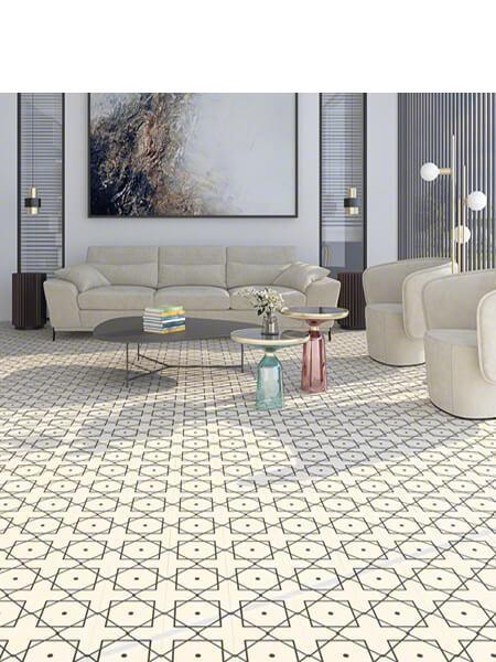 Pavimento porcelánico Elíseos-R Blanco 20x20 cm (1 m2/cj)