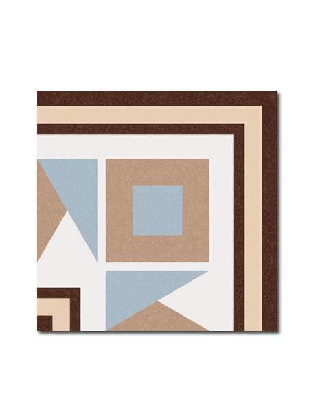 Pavimento imitación hidráulico Florentina-3 20x20 cm. Diseños del pasado con tecnología del presente, azulejo para paredes y suelos.