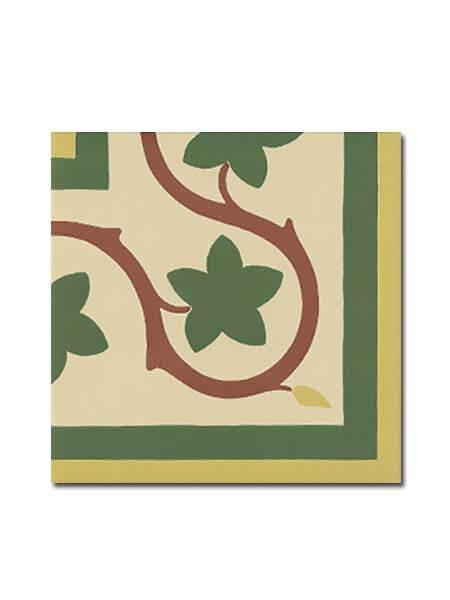 Pavimento imitación hidráulico Esquina Gaudí-3 20x20 cm venta por pieza