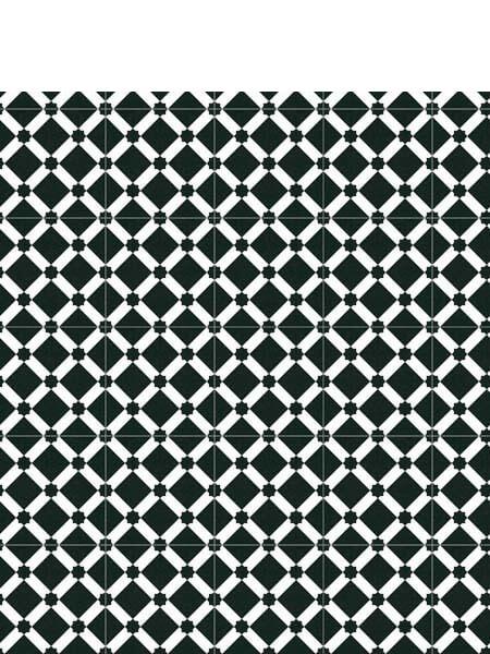 Pavimento imitación hidráulico Palau Grafito 20x20 cm. Diseños del pasado con tecnología del presente, azulejo para paredes y suelos.