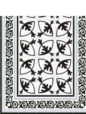 Pavimento imitación hidráulico Rotjen Basalto 20x20 cm. Diseños del pasado con tecnología del presente, azulejo para paredes y suelos.