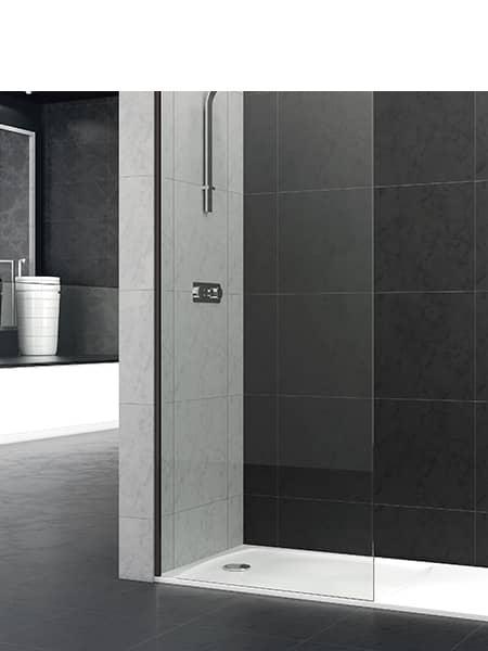 Fijo de ducha Riaza BE de 8 mm de 90 Y 100 cm