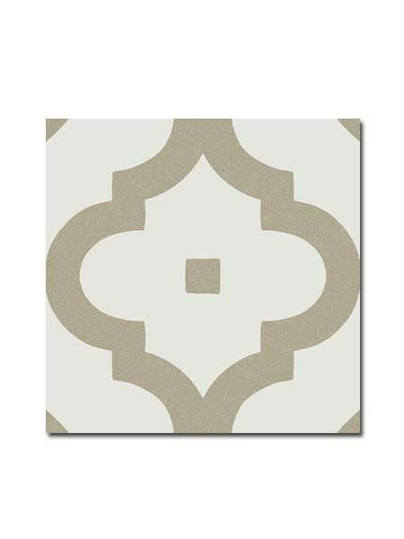 Pavimento porcelánico Maori Ladakhi Musgo 20x20 cm. Una serie de azulejos efecto hidráulico.