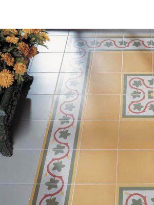 Pavimento imitación hidráulico Blanco 20x20 cm. Diseños del pasado con tecnología del presente, azulejo para paredes y suelos.