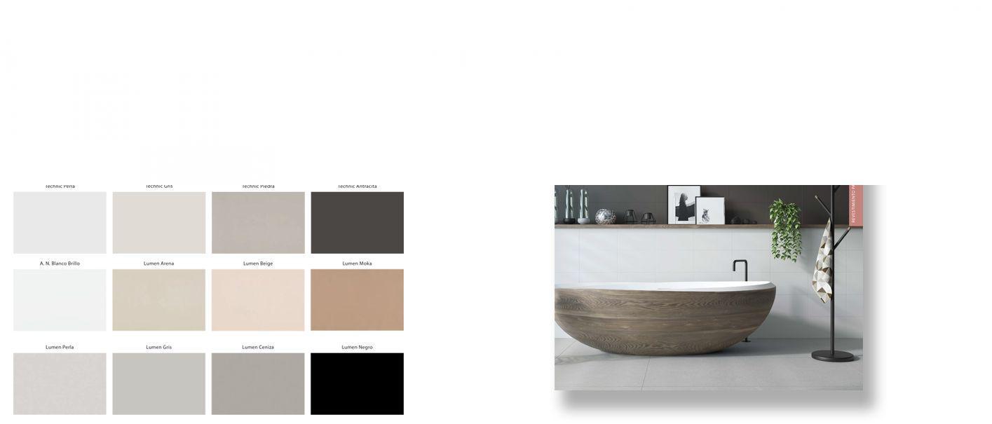 Azulejo liso brillo o mate 20x30 cm. El clásico azulejo para decoraciones retro o vintage o incluso modernas o minimalistas. Primera calidad.