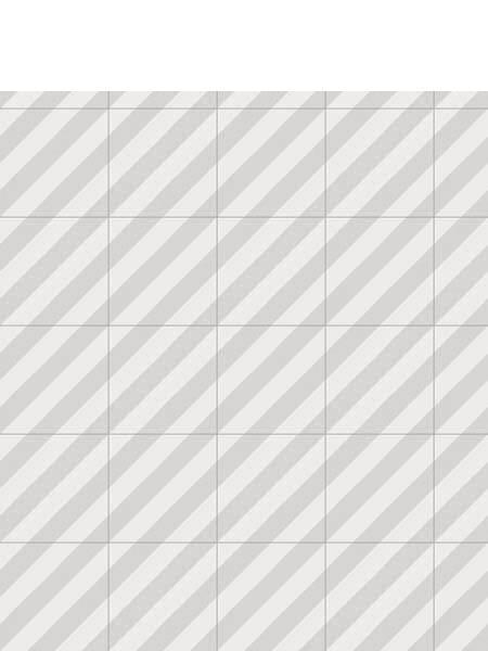 Pavimento porcelánico Maori Goroka Gris 20x20 cm. Una serie de azulejos efecto hidráulico.