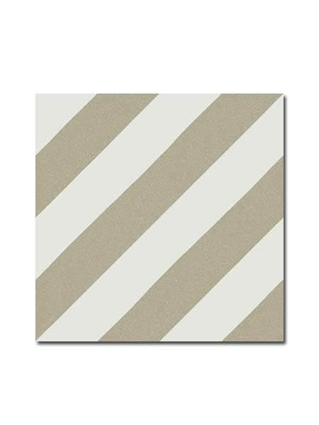 Pavimento porcelánico Maori Goroka Musgo 20x20 cm. Una serie de azulejos efecto hidráulico.
