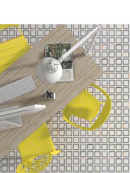 Pavimento porcelánico Maori Hamar 20x20 cm. Una serie de azulejos efecto hidráulico.