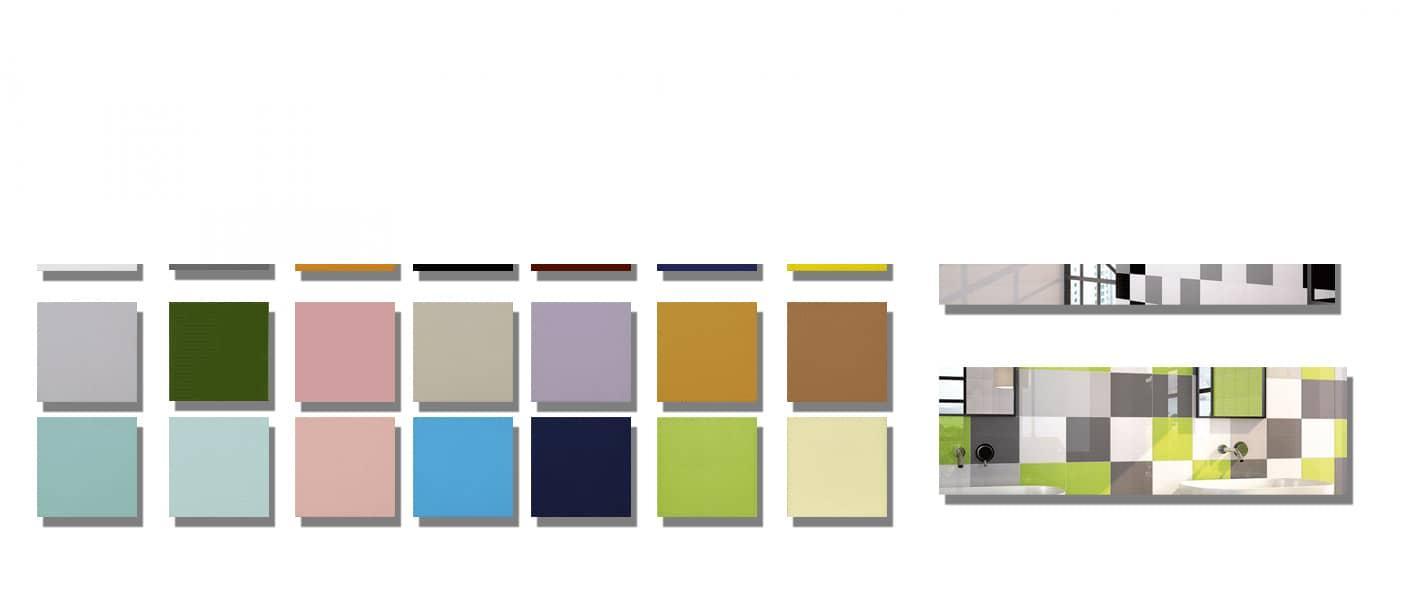 Azulejo liso brillo o mate 15x15 cm.