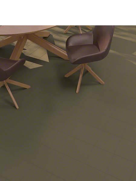 Pavimento porcelánico Vodevil Oliva 20x20 cm. Una serie de azulejos efecto hidráulico.
